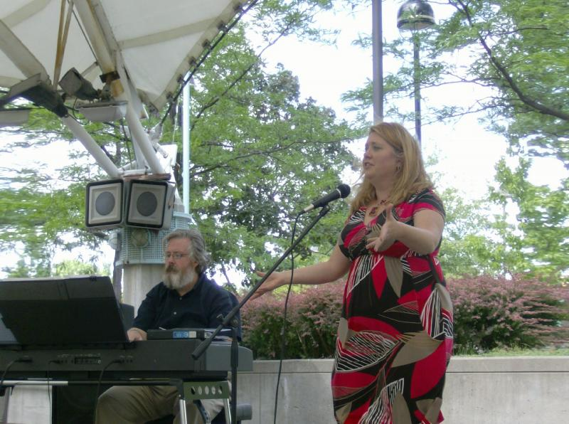 Kim Streby Vocalist, Quincy Dobbs pianist